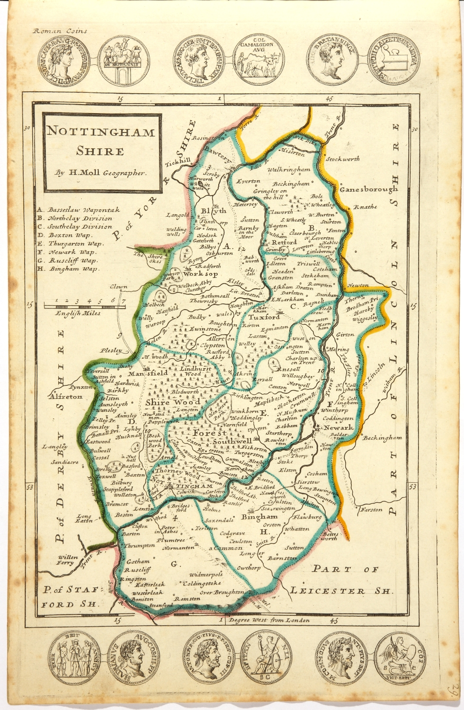Little Eaton 45-SW Coxbench Old Map Derbyshire 1901