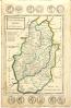 nottinghamshire old map 1724 herman moll